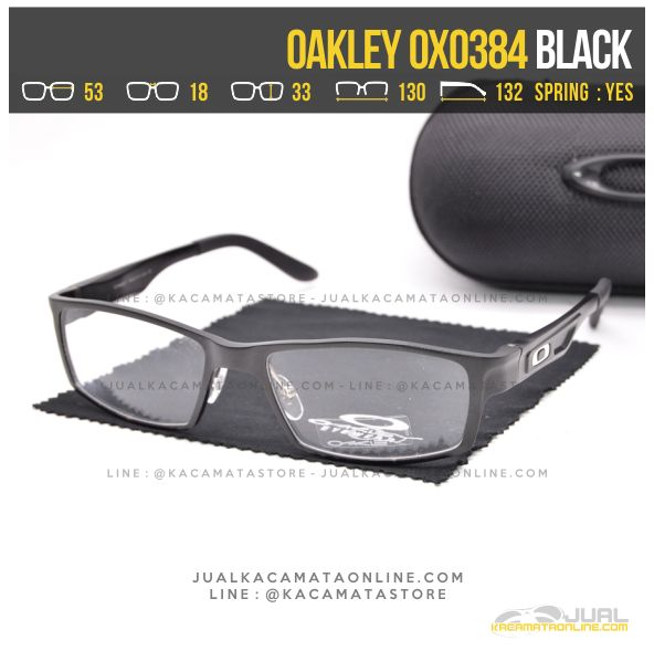 Model Kacamata Optik Terbaru Oakley OX0384 Alloy Black