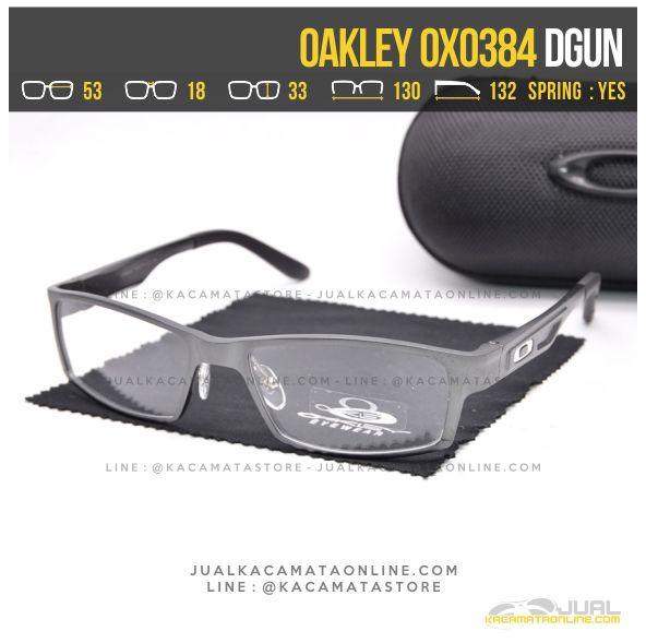 Harga Kacamata Optik Terbaru Oakley OX0384 Alloy Dgun