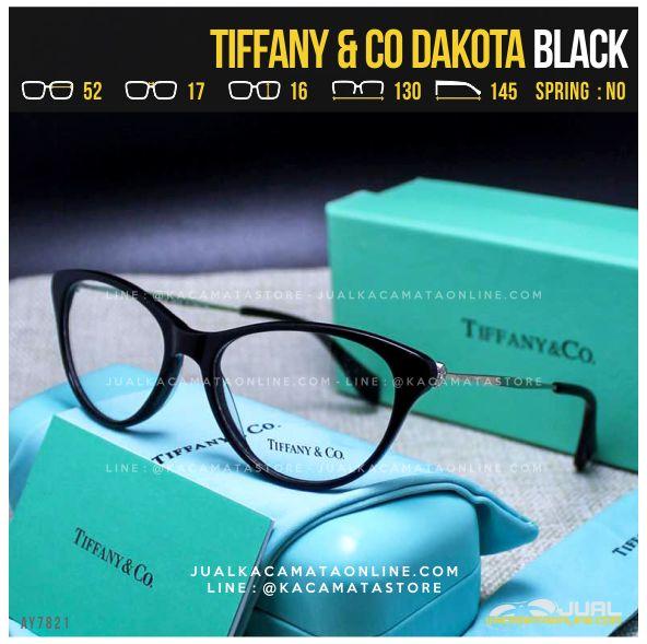 Gambar Frame Kacamata Baca Cewek Tiffany Dakota Black