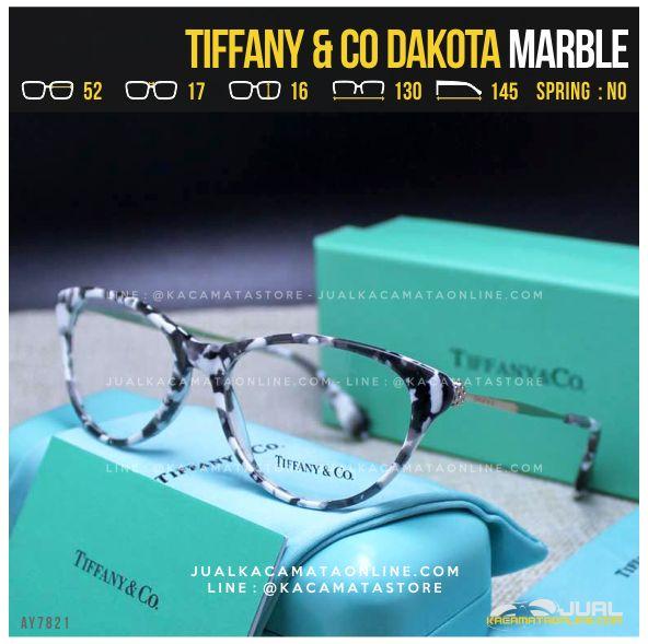 Model Frame Kacamata Baca Cewek Tiffany Dakota Marble