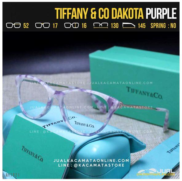 Trend Frame Kacamata Baca Cewek Tiffany Dakota Purple