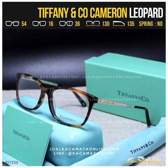 Model Frame Kacamata Minus Cewek Tiffany Cameron Leopard