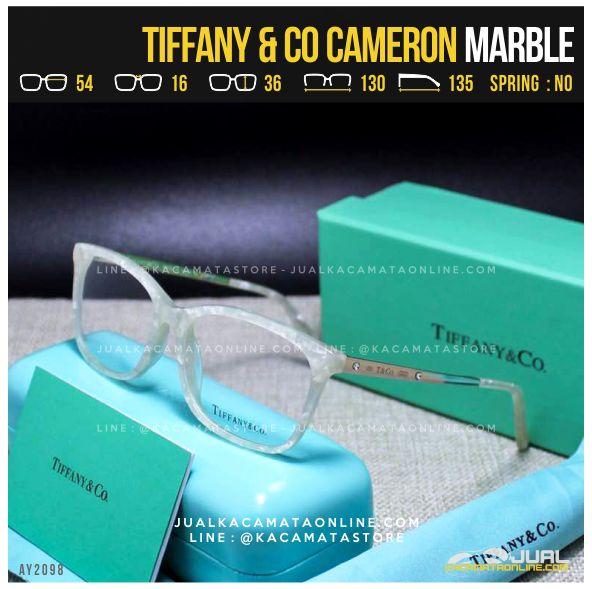 Jual Frame Kacamata Minus Cewek Tiffany Cameron Marble