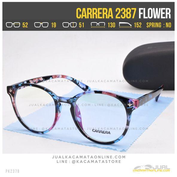 Model Frame Kacamata Minus Terbaru Carrera 2387 Flower