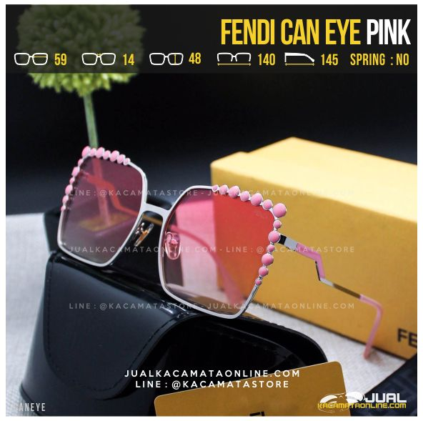 Model Kacamata Artis Fendi Can Eye Pink