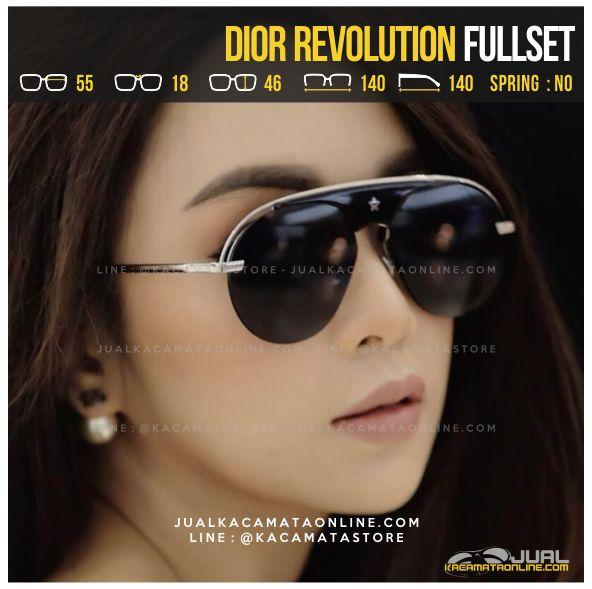 Jual Kacamata Fashion Terbaru Dior Revolution