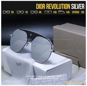 Harga Kacamata Fashion Terbaru Dior Revolution Silver