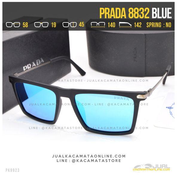 Grosir Kacamata Gaya Prada 8832 Blue