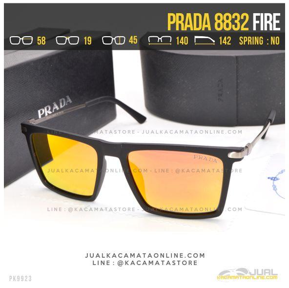 Model Kacamata Gaya Prada 8832 Fire