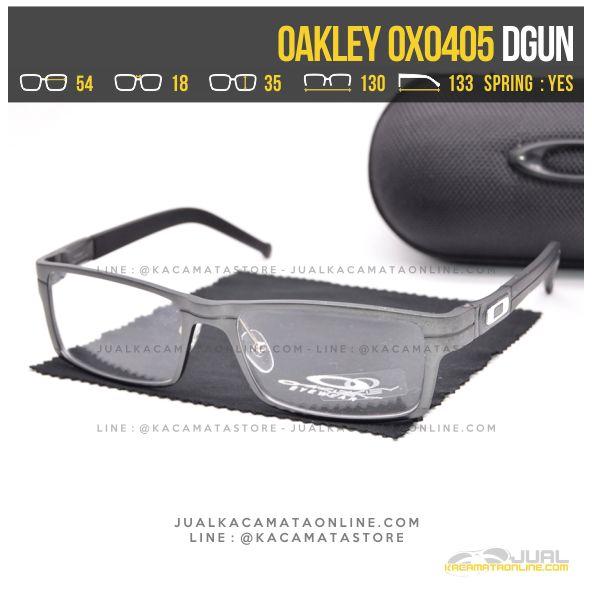 Model Kacamata Minus Cowok Oakley OX0405 Alloy Dgun