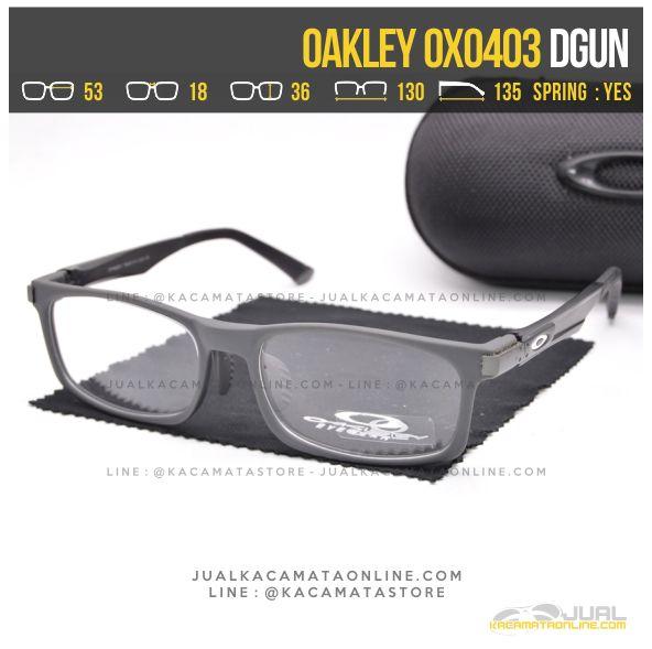 harga Kacamata Minus Pria Oakley OX0403 Alloy Dgun