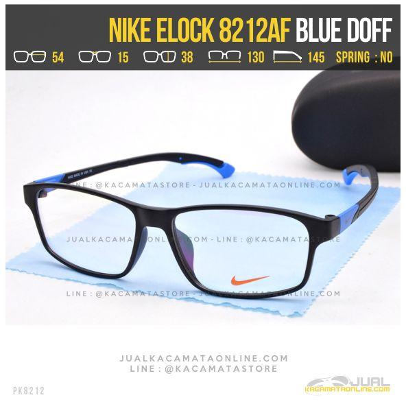 Jual Kacamata Minus Sporty Nike 8212AF Blue Doff