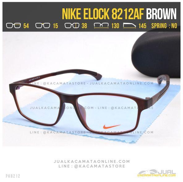 Toko Kacamata Minus Sporty Nike 8212AF Brown