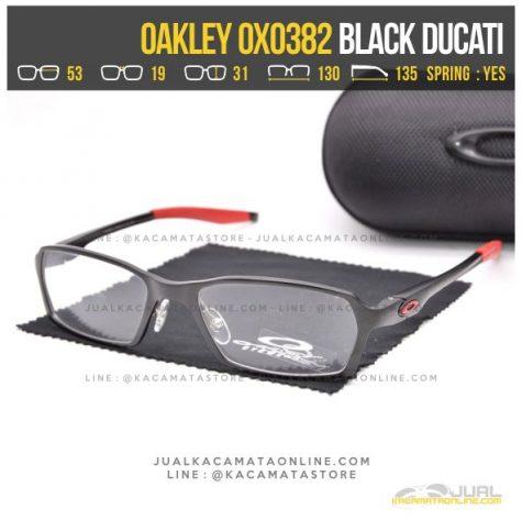 Grosir Kacamata Minus Terbaru Oakley OX0382 Black Ducati