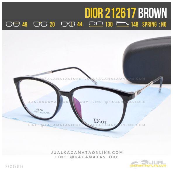 Harga Kacamata Minus Wanita Dior 212617 Black