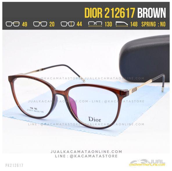 Trend Kacamata Minus Wanita Dior 212617 Brown