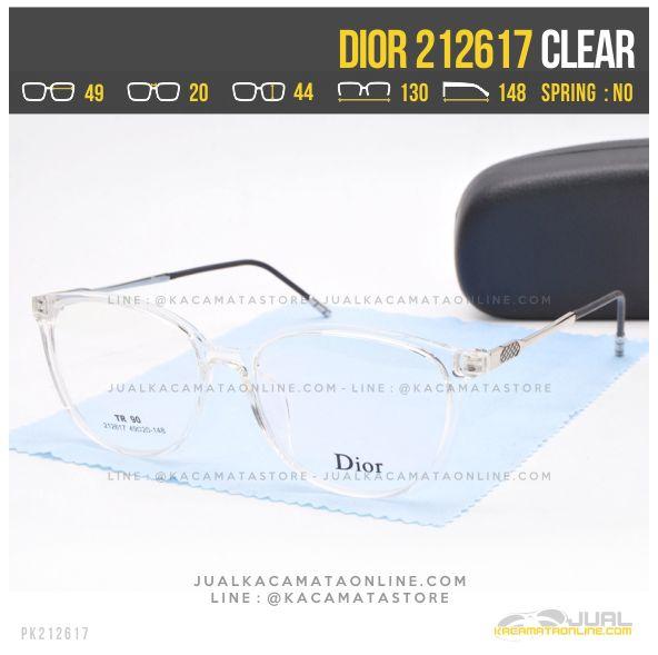 Gambar Kacamata Minus Wanita Dior 212617 Clear
