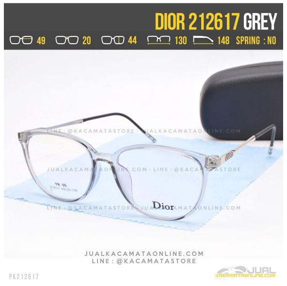 Model Kacamata Minus Wanita Dior 212617 Grey