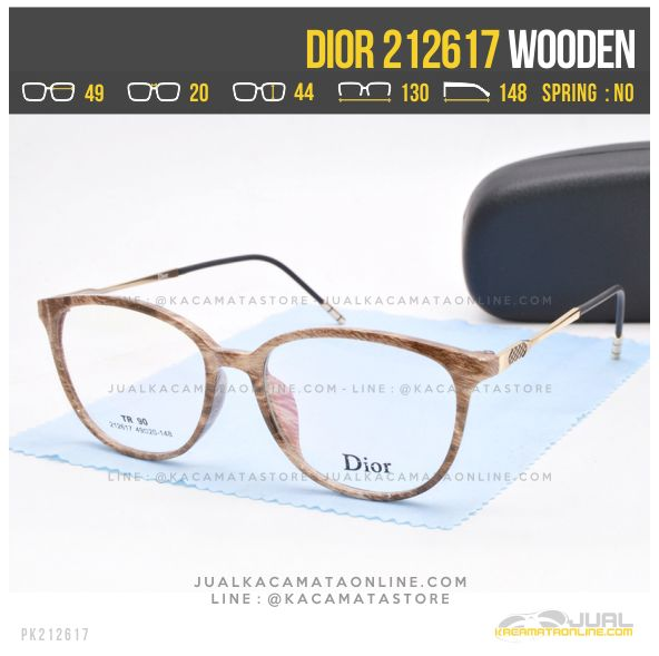 Grosir Kacamata Minus Wanita Dior 212617 Wooden