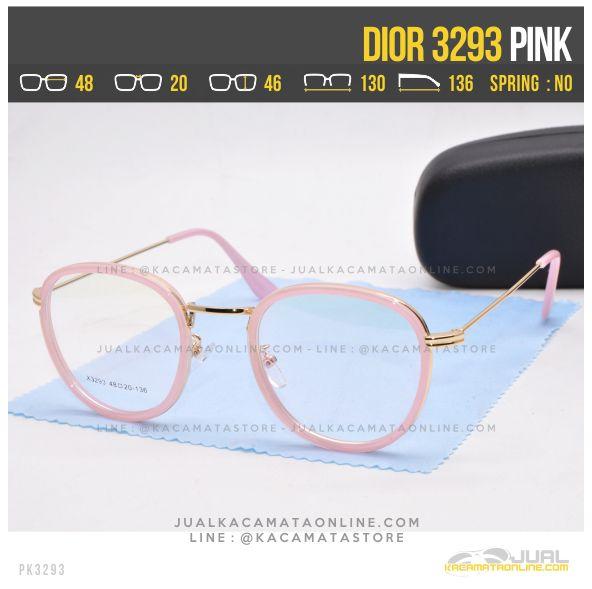 Jual Kacamata Murah Terbaru Dior 3293 Pink