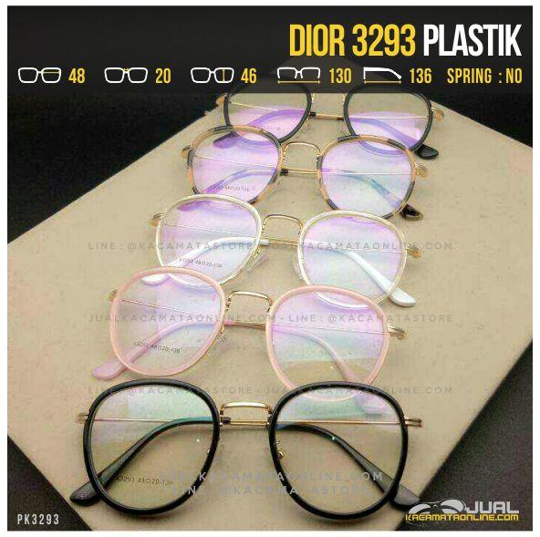 Jual Kacamata Murah Terbaru Dior 3293