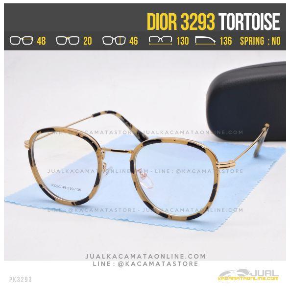 Trend Kacamata Murah Terbaru Dior 3293 Tortoise