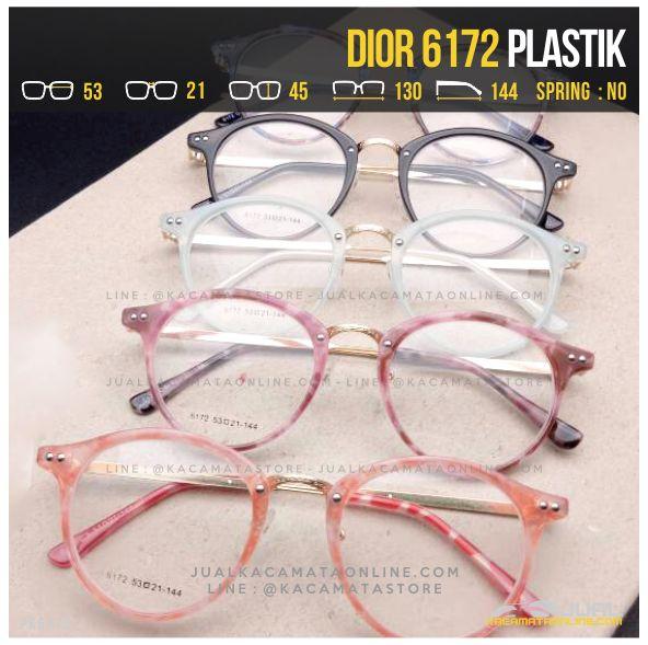 Jual Kacamata Optik Cewek Dior 6172