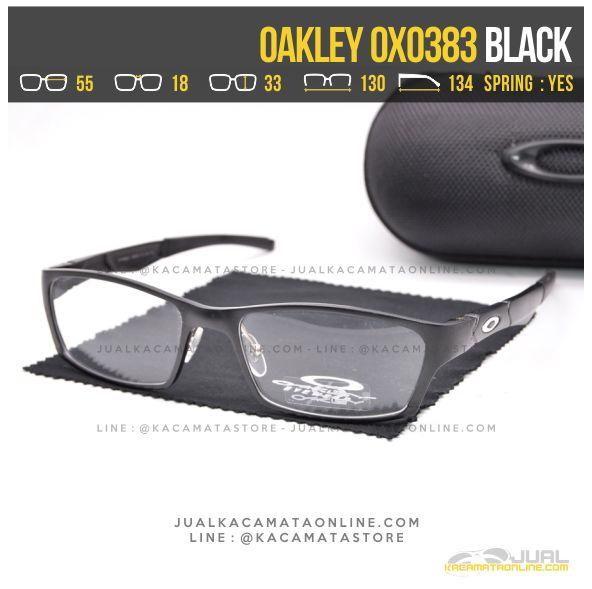 Jual Kacamata Optik Terbaru Oakley OX0383 Alloy Black