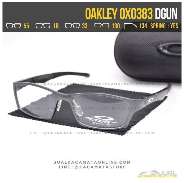Gambar Kacamata Optik Terbaru Oakley OX0383 Alloy Dgun