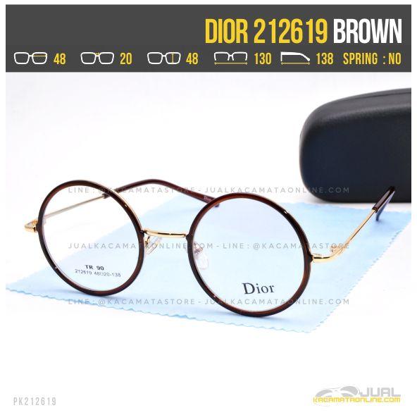 Gambar Kacamata Optik Wanita Dior 212619 Brown