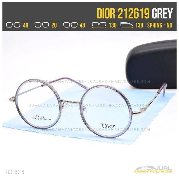 harga Kacamata Optik Wanita Dior 212619 Grey