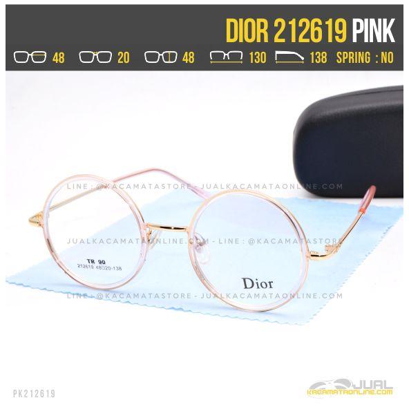 Jual Kacamata Optik Wanita Dior 212619 Pink