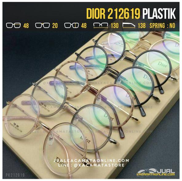 Jual Kacamata Optik Wanita Dior 212619 Terbaru
