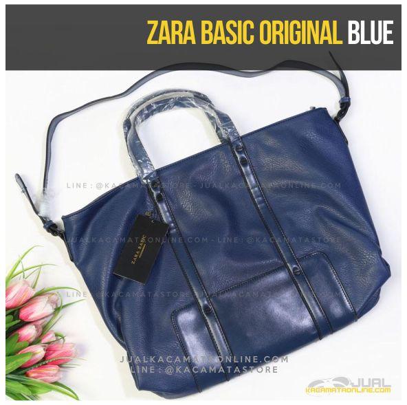 Gambar Tas Wanita Zara Basic Original Terbaru Blue