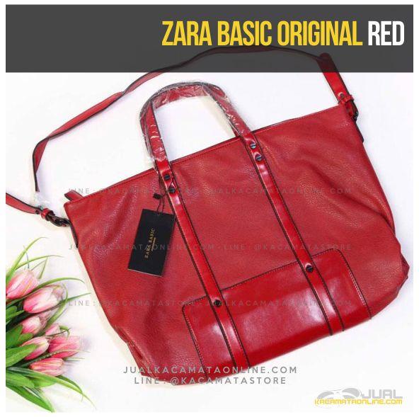 Grosir Tas Wanita Zara Basic Original Terbaru Red