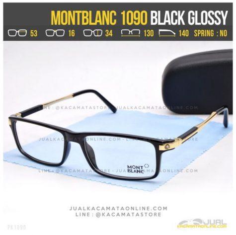 Gambar Frame Kacamata Optik MontBlanc 1090 Black Glossy