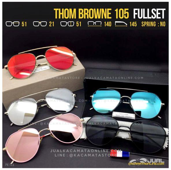 Model Kacamata Artis Terbaru Thom Browne 105