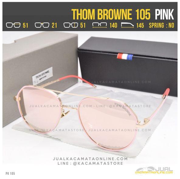 Model Kacamata Artis Terbaru Thom Browne 105 Pink