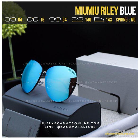 Gambar Kacamata Cewek Terlaris MiuMiu Riley Blue