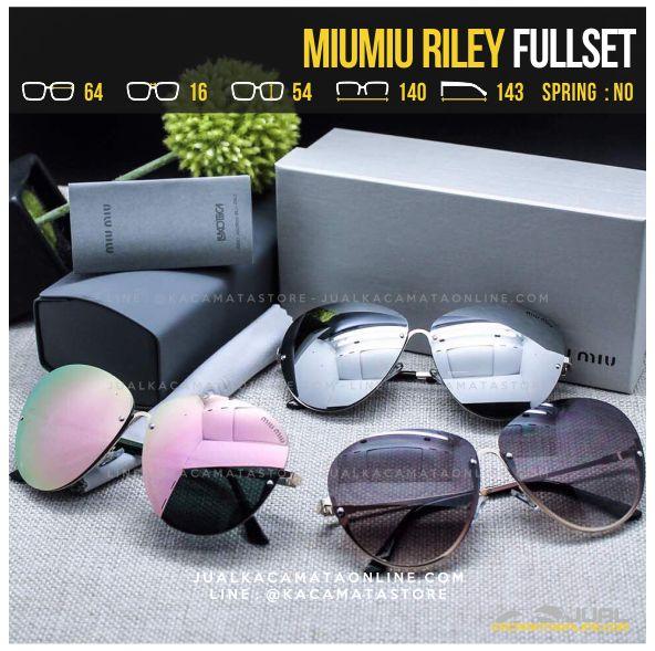 Model Kacamata Cewek Terlaris MiuMiu Riley