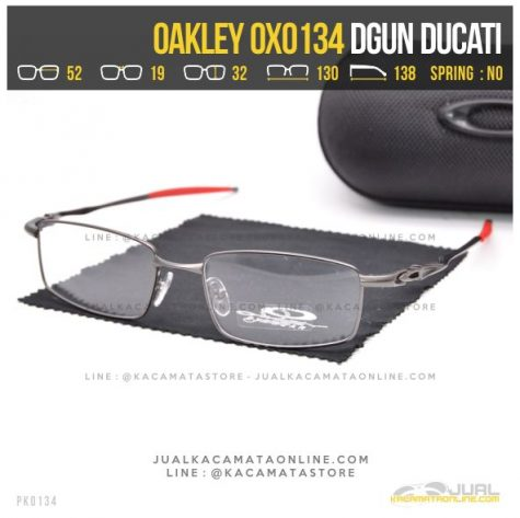 Model Kacamata Minus Terbaru Oakley OX0134 Alloy Dgun Ducati