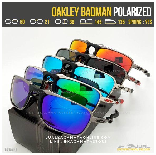 Model Kacamata Oakley Terbaru Badman Titanium