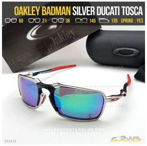 harga Kacamata Oakley Terbaru Badman Titanium Silver Ducati Tosca