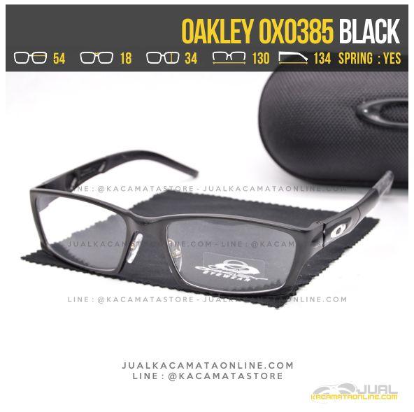 Trend Kacamata Optik Pria Terbaru Oakley OX0385 Black