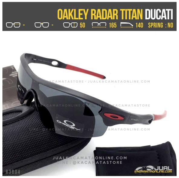 Jual Kacamata Sepeda Terbaru Oakley Radar Titanium Ducati