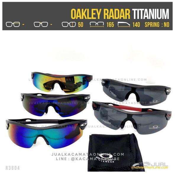 Model Kacamata Sepeda Terbaru Oakley Radar Titanium
