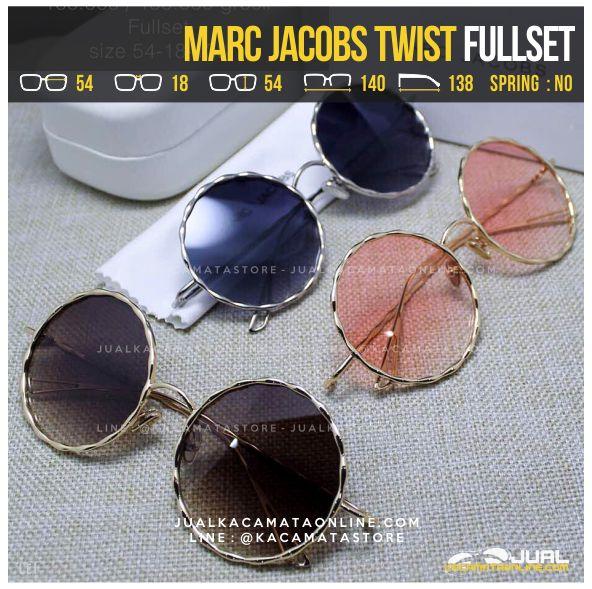 Trend Kacamata Artis Terbaru Marc Jacobs Twist