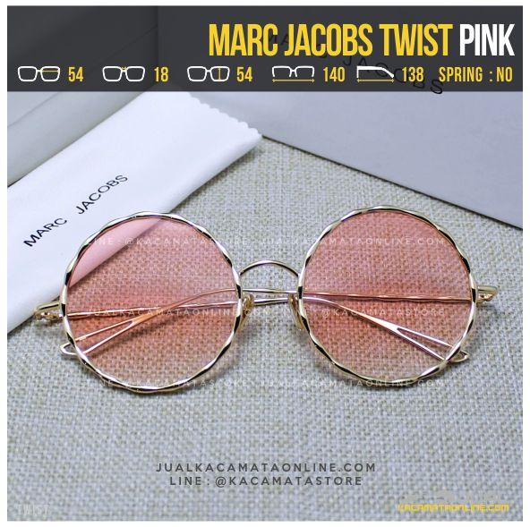 Trend Kacamata Artis Terbaru Marc Jacobs Twist Pink