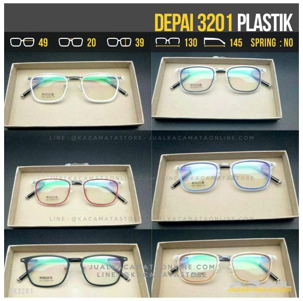 Trend Kacamata Korea Terbaru Depai 3201
