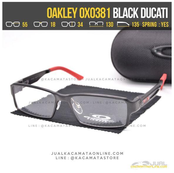 Trend Kacamata Minus Terbaru Oakley OX0381 Black Ducati